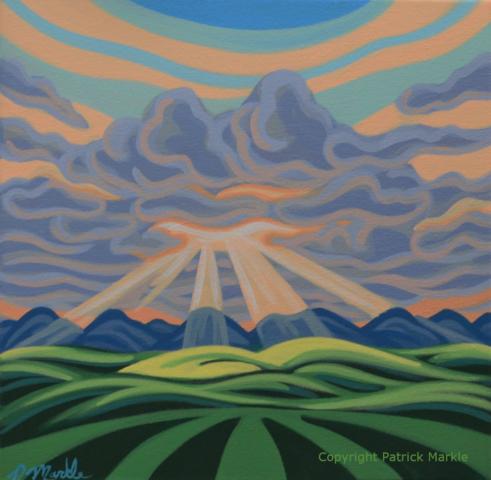 Patrick Markle, Canadian artist, calgary, Alberta