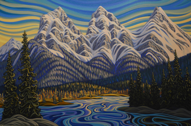 Canmore, Banff, Art, Painting