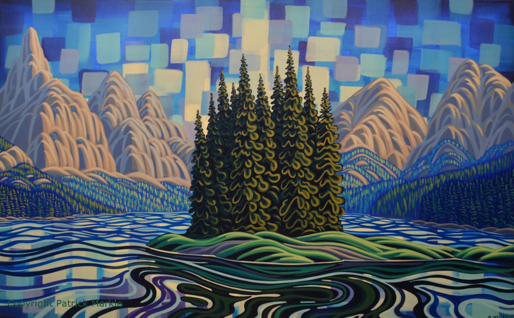 Patrick Markle, Canadian Artist, Fernie BC