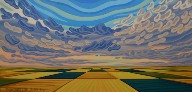 Prairies, Sakatchewan, Alberta, Patchwork