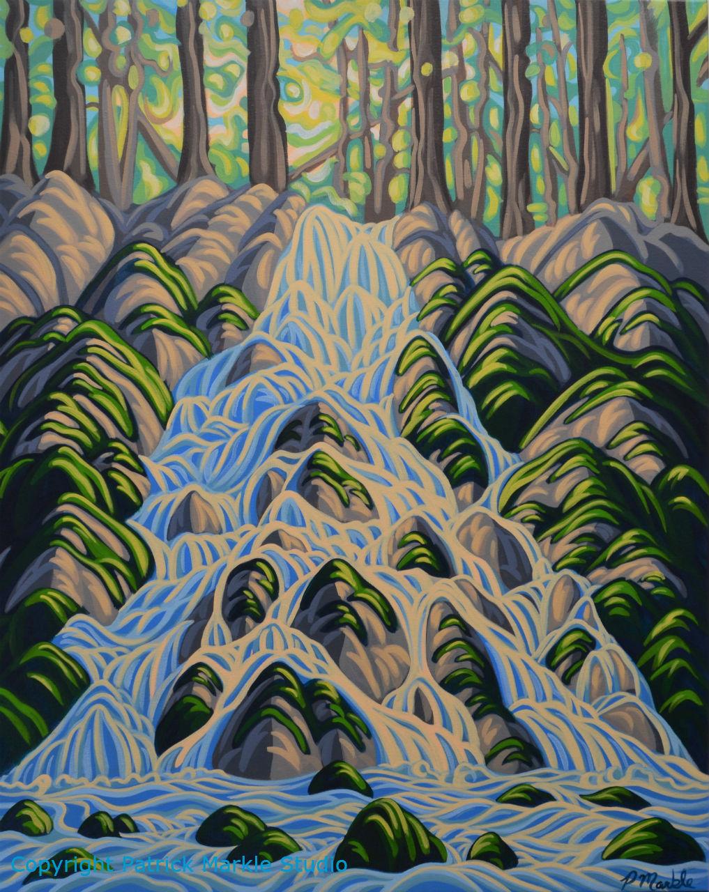 Patrick Markle, Canadian Artist, Albert, Landscape Painting
