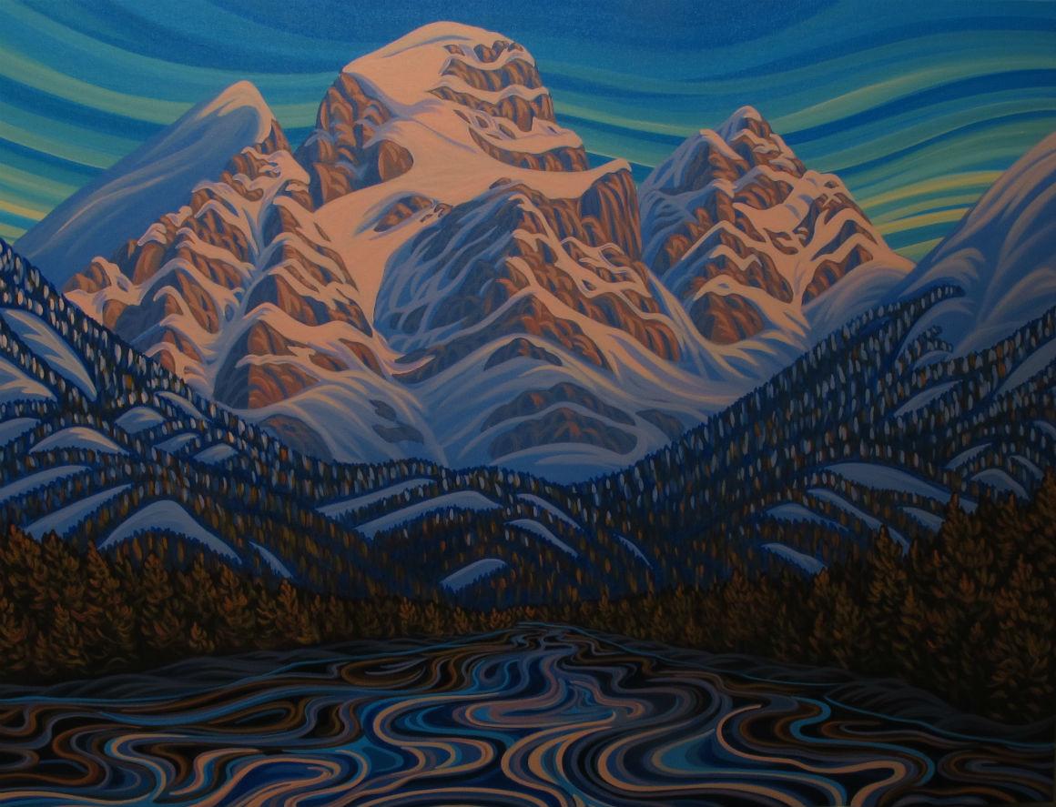 Patrick Markle, Fernie, three sisters, rockie mountains