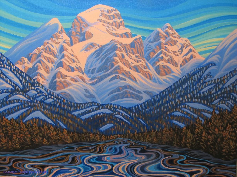 Patrick Markle, Canadian Artist, Landscape Painter, Fernie BC