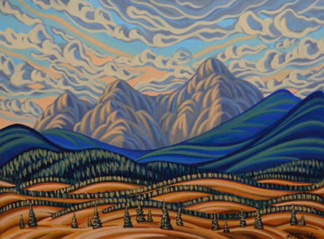 Patrick markle, Canadian artist, Landscape painter