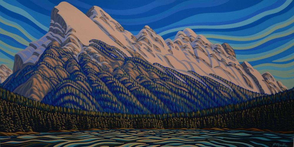Patrick Markle, Banff, Mt Rundle, Banff National Park, Vermilion Lake, Rocky Mountains