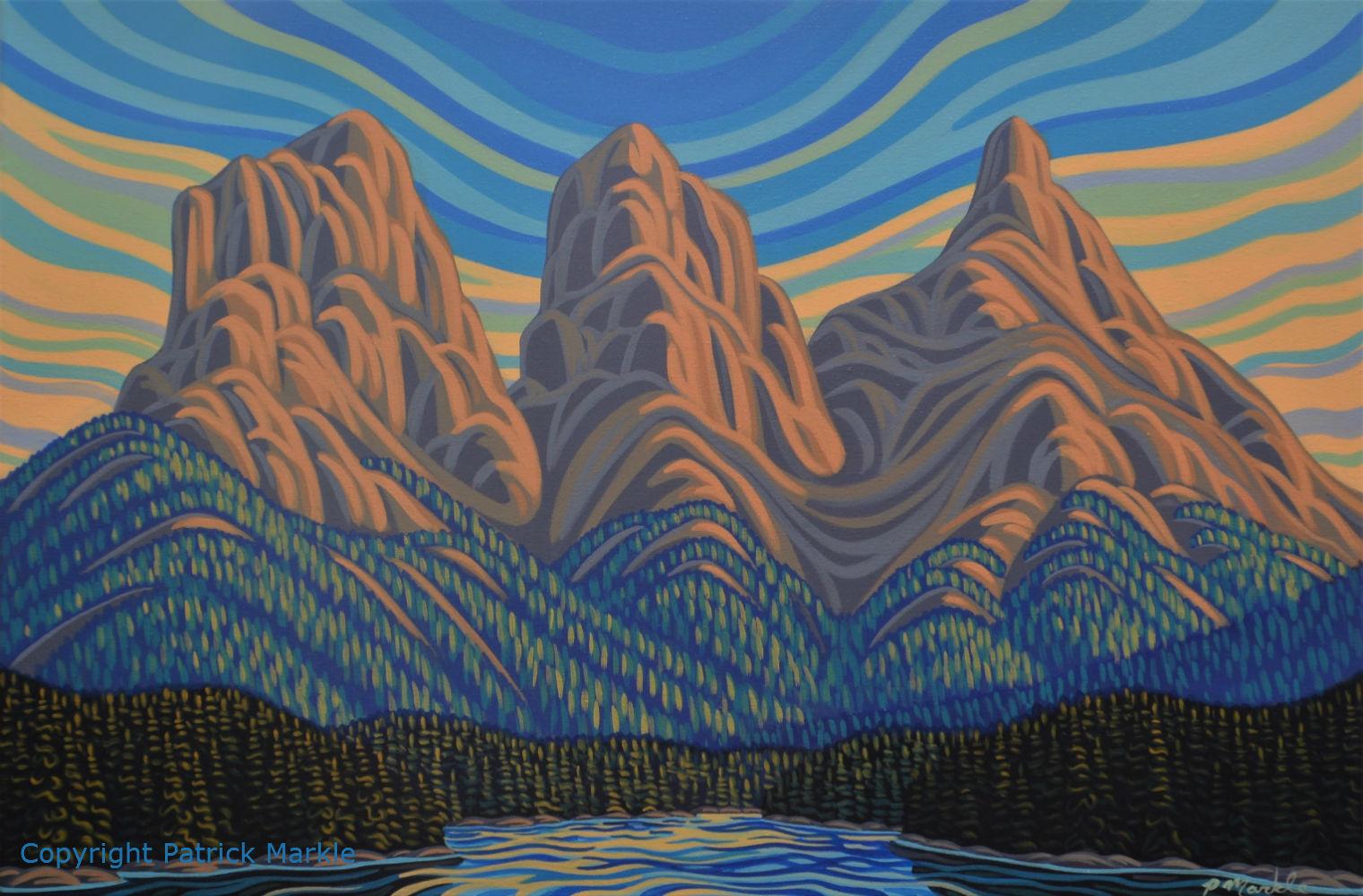 Patrick Markle, Canadian Artist, Banff, Alberta