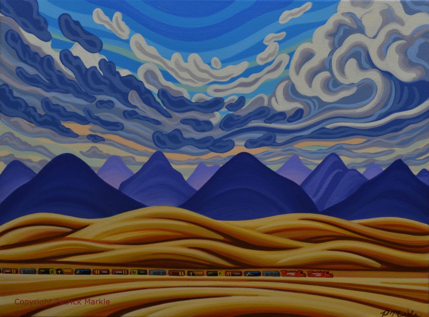 Patrick Markle, Canadian Artist, Fernie Bc, Banff, Jasper