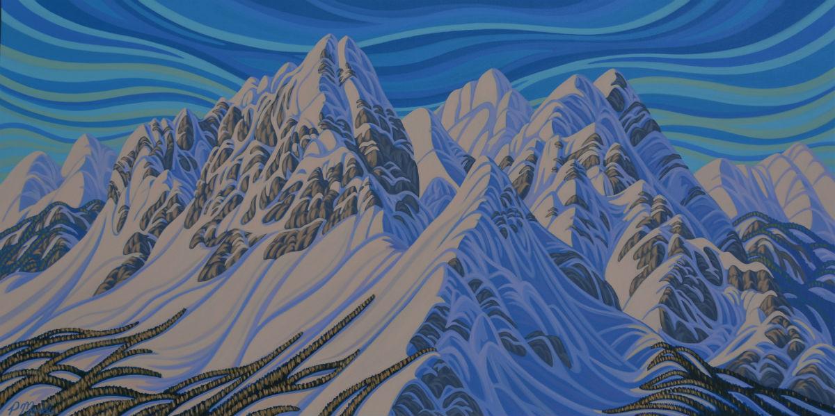 Patrick Markle, Fernie, BC, Ski, Mountains