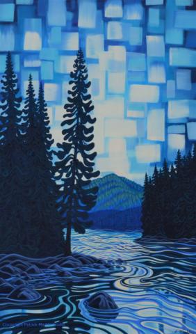 Patrick Markle. painting, canadian artist, alberta