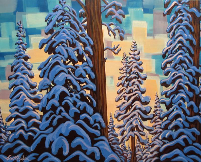 "Original Painting by Patrick Markle - ""Good Morning"""