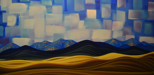 "Original Painting by Patrick Markle - ""Prairie Light"" (Alberta, Canada)"